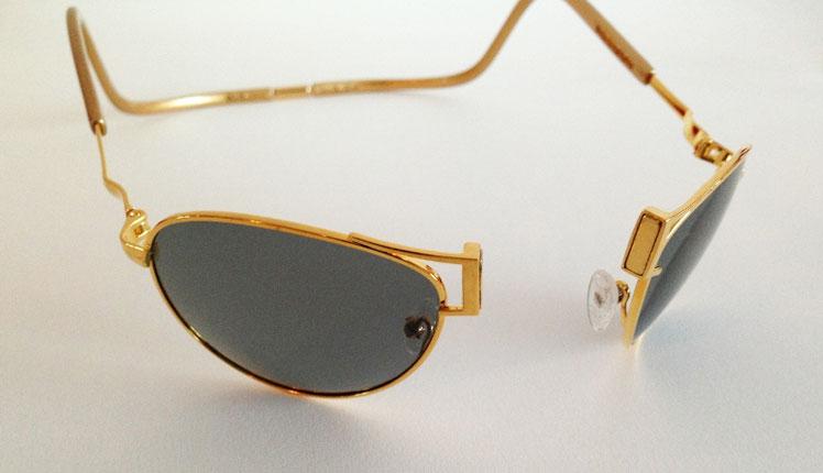 Clic-Gold-18-Carat-Gold-Sport-Sunglasses
