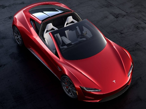 Tesla Roadster 2020, above the best super cars