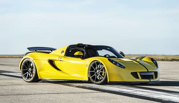 Hennessey Venom is the 'unofficial' fastest car in the world (© Hennessey)