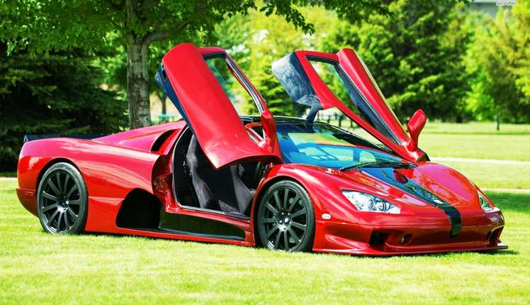 SSC Ultimate Aero was the fastest car in 2007 (© SSC North America)