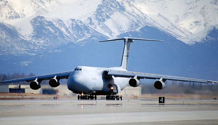 Lockheed C-5 Galaxy is a strategic airlifter