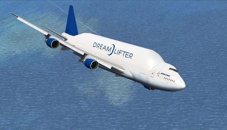 The Dreamlifter is among the largest Boeing crafts