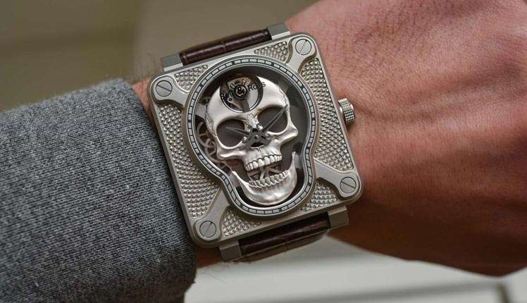 'Laughing Skull' is the new hot-model by Bell & Ross watches