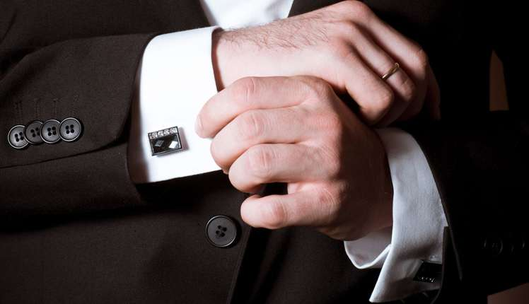 Paul Smith cufflinks has a special style element of funky design