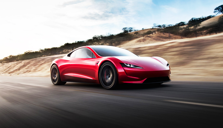 The Roadster will run for 1000 km at a single charge.